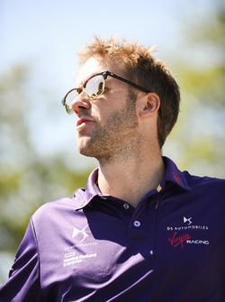 Sam Bird, DS Virgin Racing durante desfile de pilotos