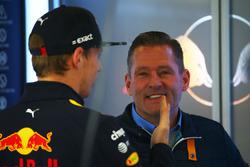 Jos Verstappen und Max Verstappen, Red Bull Racing
