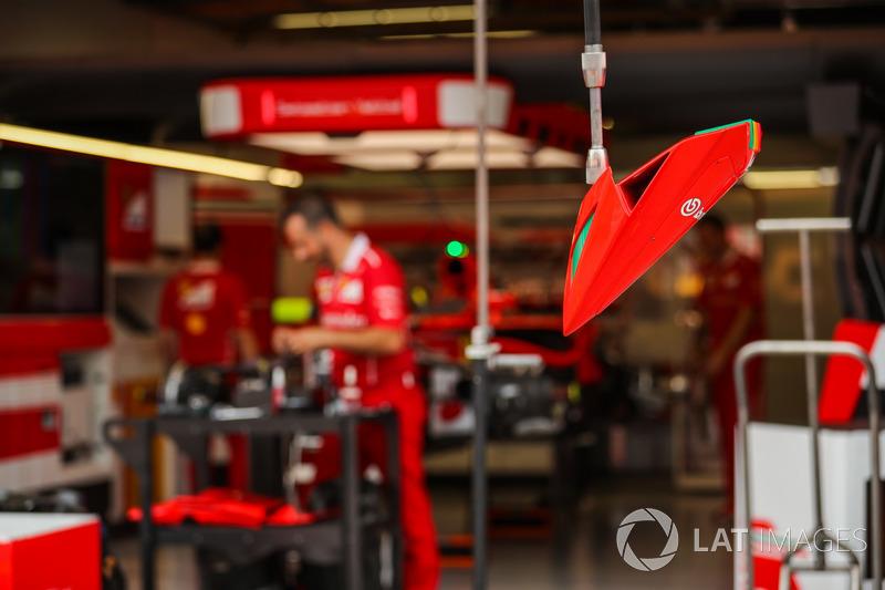 Ferrari pit stop ışığı