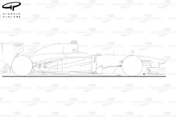 Force India VJM06 side view, outline