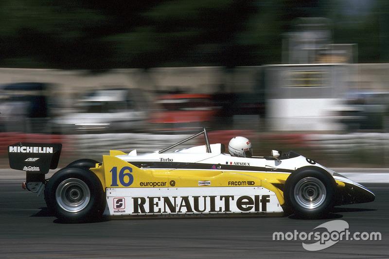 René Arnoux: 4 galibiyet