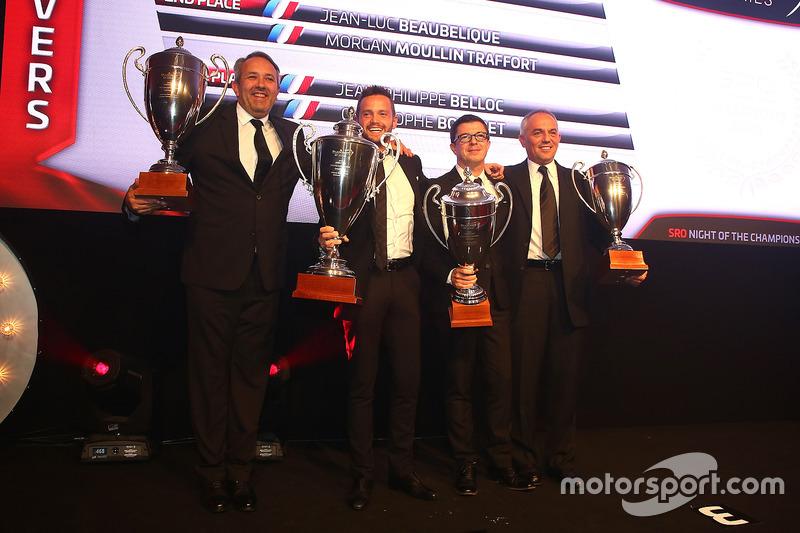 2016 Copa Sprint Pro-AM pilotos, Giacomo Piccini, campeón, Jean-Luc Beaubelique, segundo lugar, Jean-Philippe Belloc, Christophe Bourret, tercer lugar
