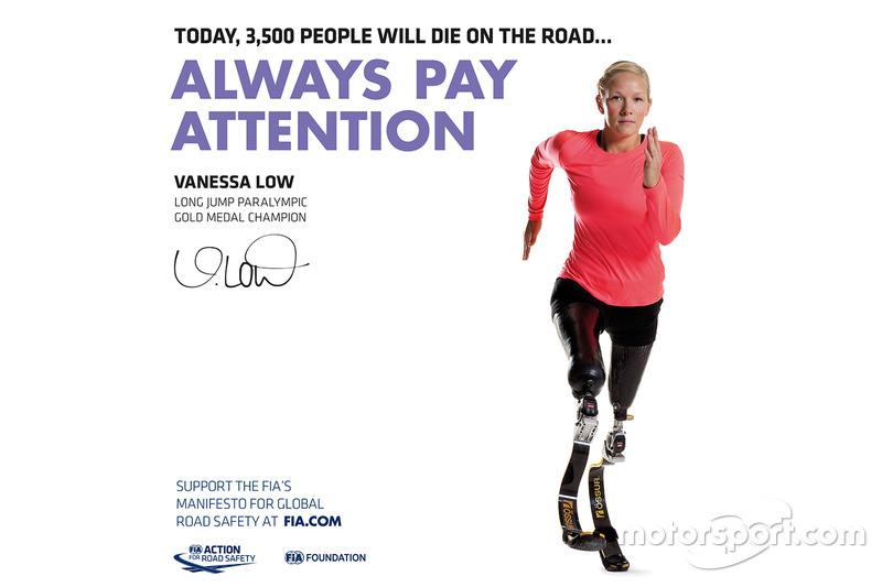 Vanessa Low, Medallista de oro paralímpica