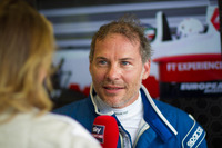 Jacques Villeneuve drives the F1 two-seater