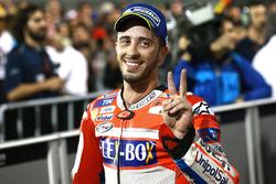 Second place Andrea Dovizioso, Ducati Team