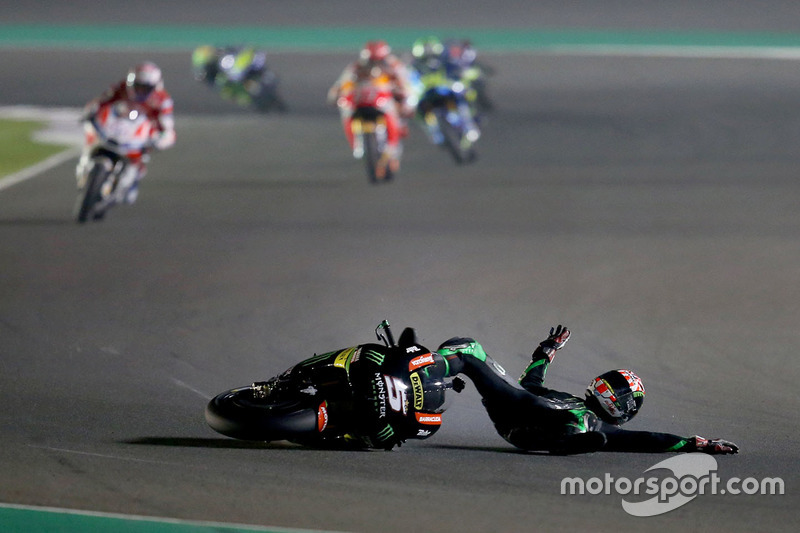 Accidente de Johann Zarco, Monster Yamaha Tech 3