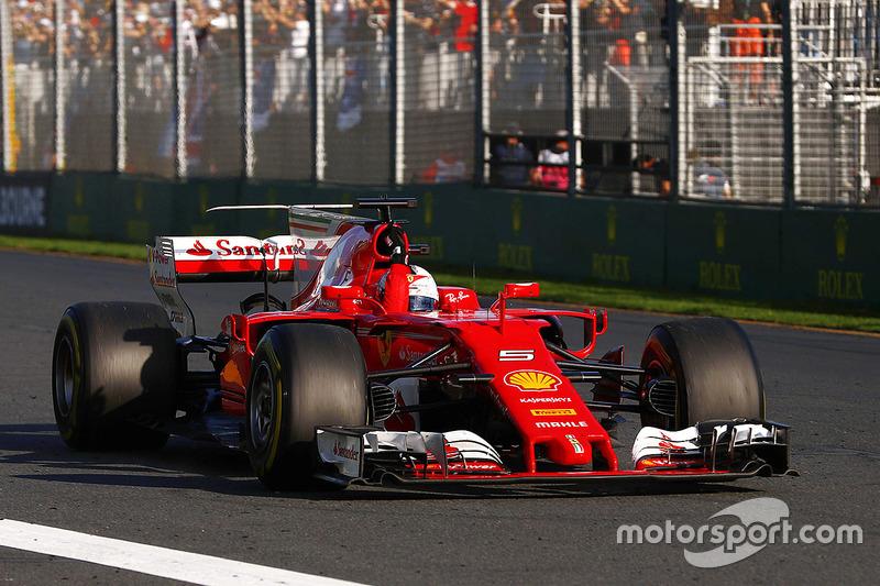 La victoire de Vettel