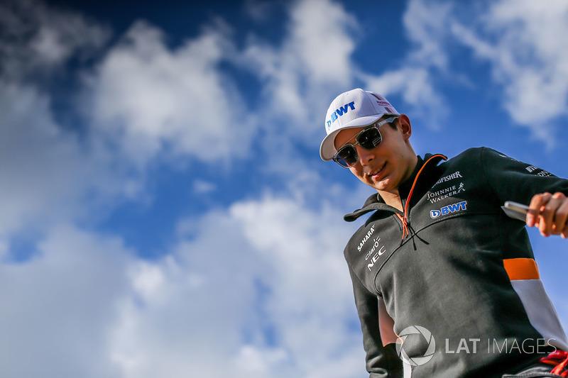 Force India – Esteban Ocon (CONFIRMADO)