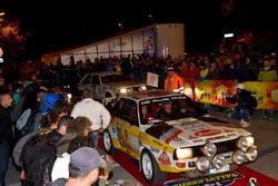 Le auto in parata a San Marino
