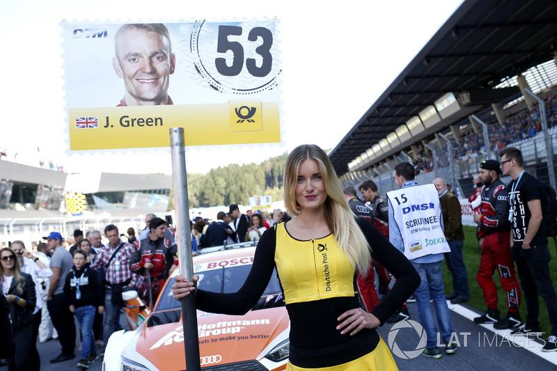 Грід-гьол Джеймі Гріна, Audi Sport Team Rosberg, Audi RS 5 DTM