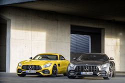 Mercedes-AMG GT C Edition 50 met de Mercedes-AMG GT S