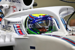 Felipe Massa, Williams FW38, mit Cockpitschutz Halo