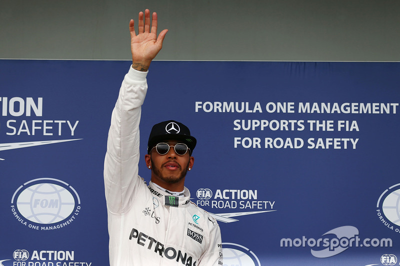 Pole-Position für Lewis Hamilton, Mercedes AMG F1 Team