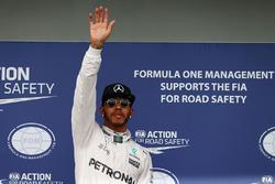 Обладатель поула Льюис Хэмилтон, Mercedes AMG F1 Team