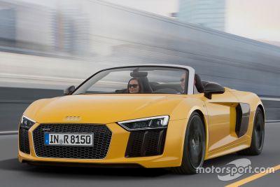 Audi R8 Spyder V10, presentazione
