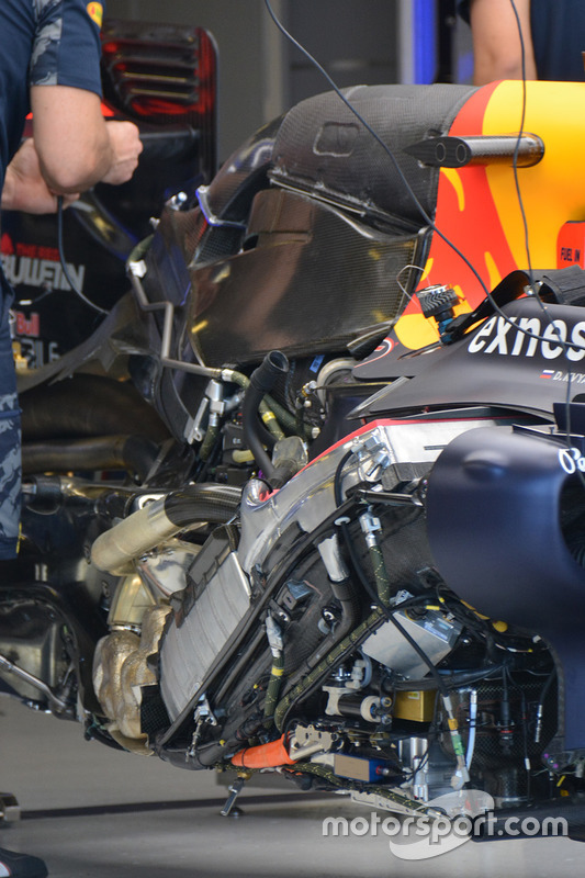 Red Bull Racing engine detail