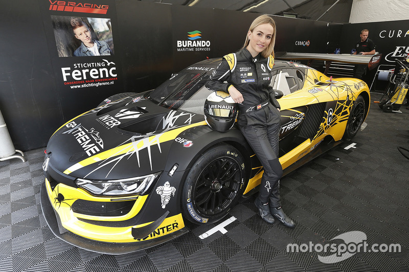 6 v8 racing renault rs01 carmen jorda at renault sport trophy imola. Black Bedroom Furniture Sets. Home Design Ideas