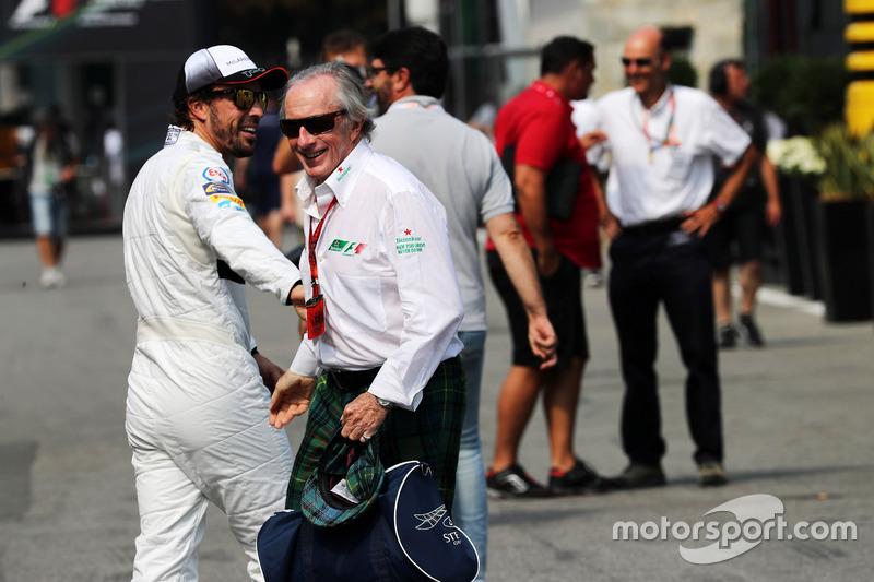 Fernando Alonso, McLaren ve Jackie Stewart