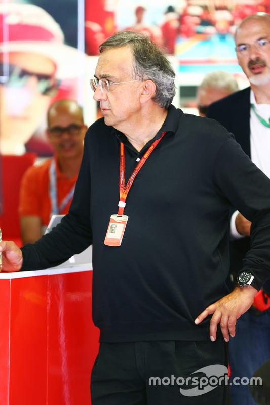 Sergio Marchionne, Ferrari Başkanı ve Fiat Chrysler Automobiles CEO'su