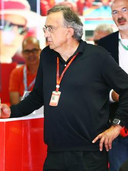 Sergio Marchionne, Presidente de Ferrari y consejero delegado de Fiat automóviles de Chrysler
