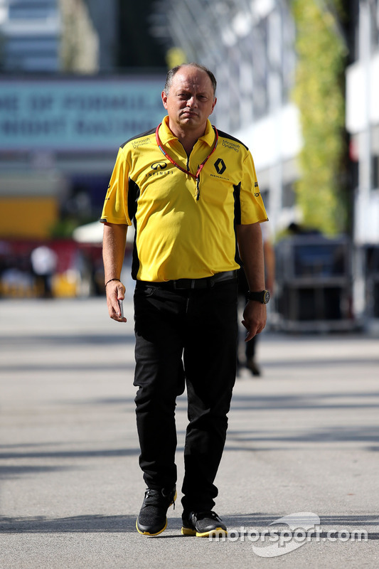 Frederic Vasseur, Renault Sport F1 Team, Racing Director