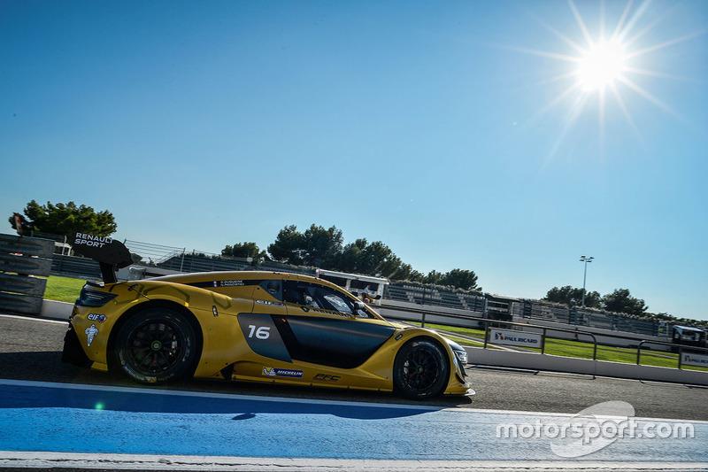 #16 Team Duqueine Renault RS01: Nelson Panciatici, Gilles Duqueine