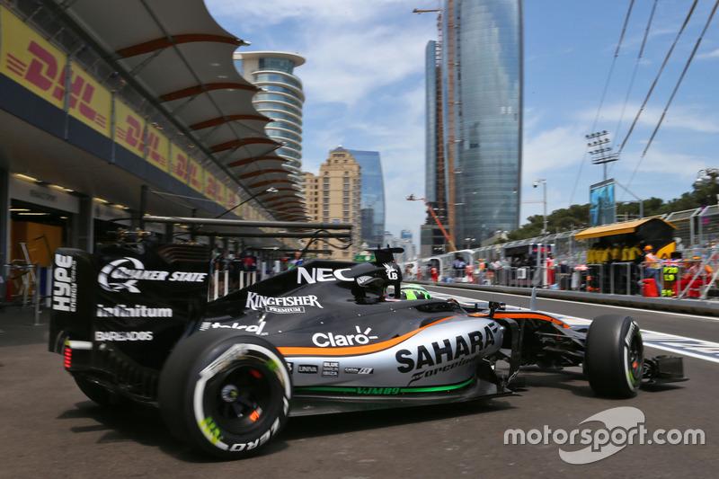 Ніко Хюлькенберг, Sahara Force India F1 VJM09, після піт-стопу