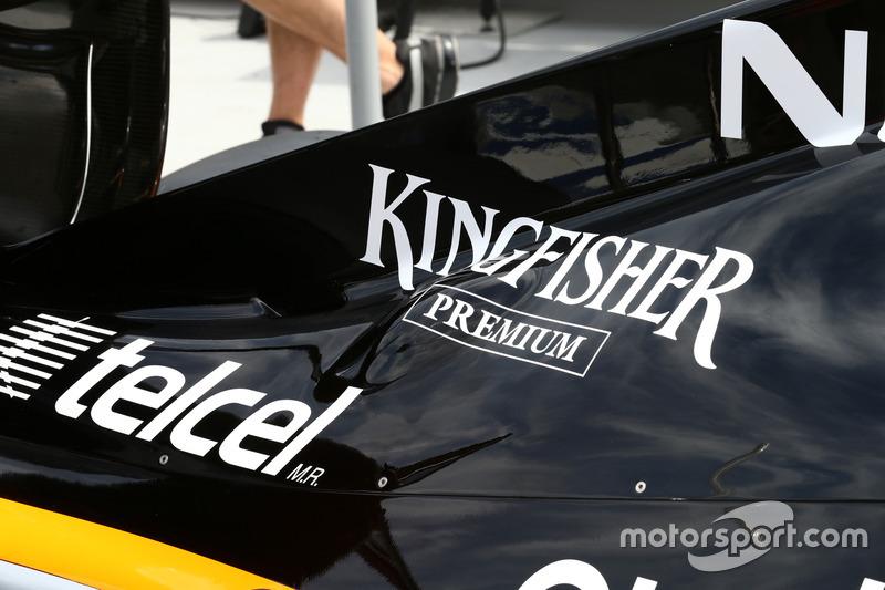 Force India: Motorhaube