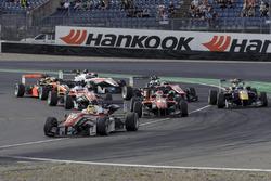 Start, Maximilian Günther Prema Powerteam Dallara F312 - Mercedes-Benz