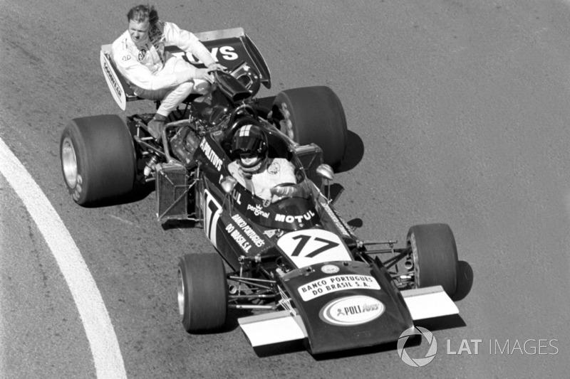 Dijon 1974 : Carlos Pace (Williams) - Ronnie Peterson (Tyrrell)