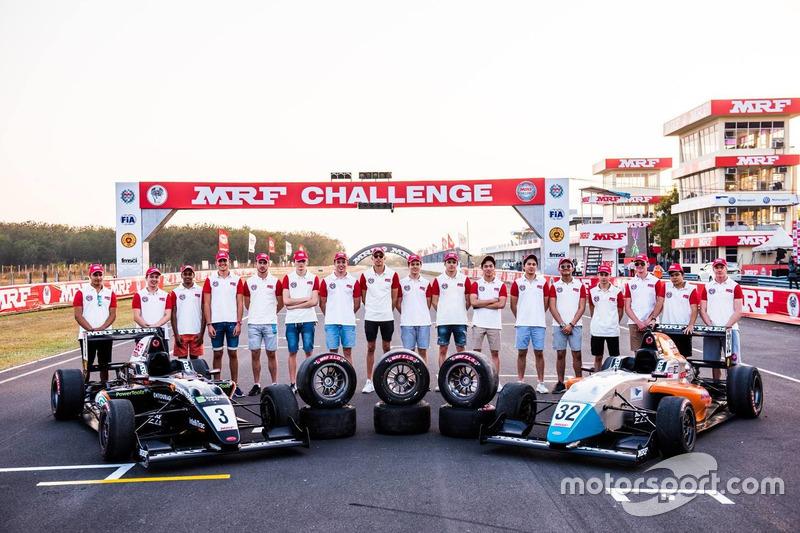 Foto grup pembalap MRF 2017-2018