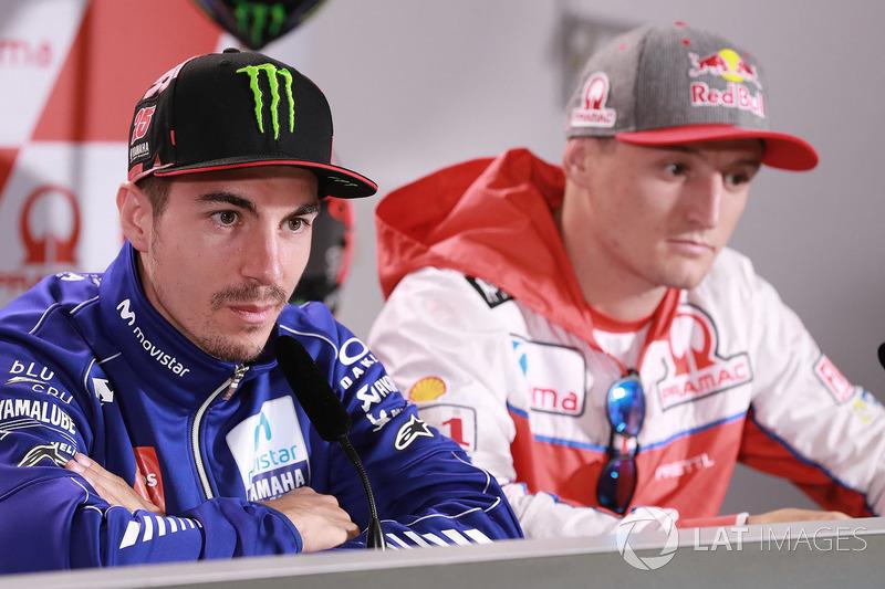 Маверік Віньялес, Yamaha Factory Racing, Джек Міллер, Pramac Racing