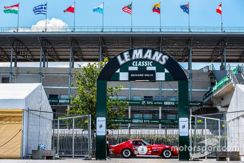 L'entrée pour Le Mans Classic