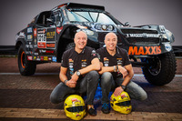 Tim Coronel, Tom Coronel, Maxxis Dakar Team