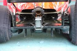 Диффузор Ferrari SF70H, Гран При Абу-Даби