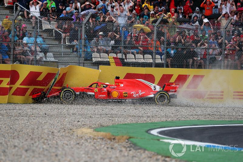 GP Jerman - Sebastian Vettel (balapan)
