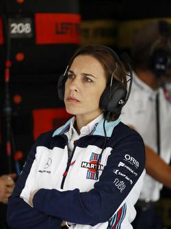 Claire Williams, afgevaardigd teambaas Williams