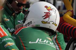 Kyle Kaiser, Juncos Racing Chevrolet crewman David Foggy Fitzgerald