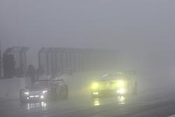 Checkered flag for #912 Manthey Racing Porsche 911 GT3 R: Richard Lietz, Patrick Pilet, Frédéric Makowiecki, Nick Tandy