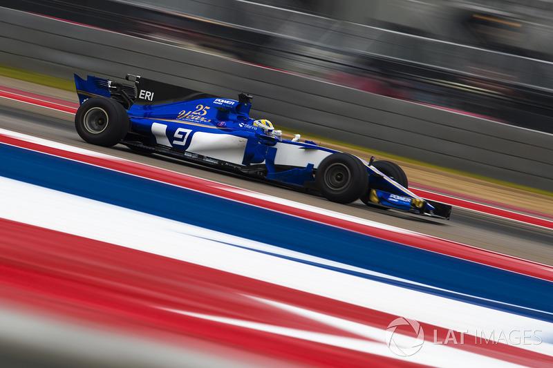 13: Marcus Ericsson, Sauber C36