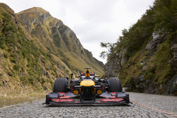 Red Bull F1 at Gotthard Pass