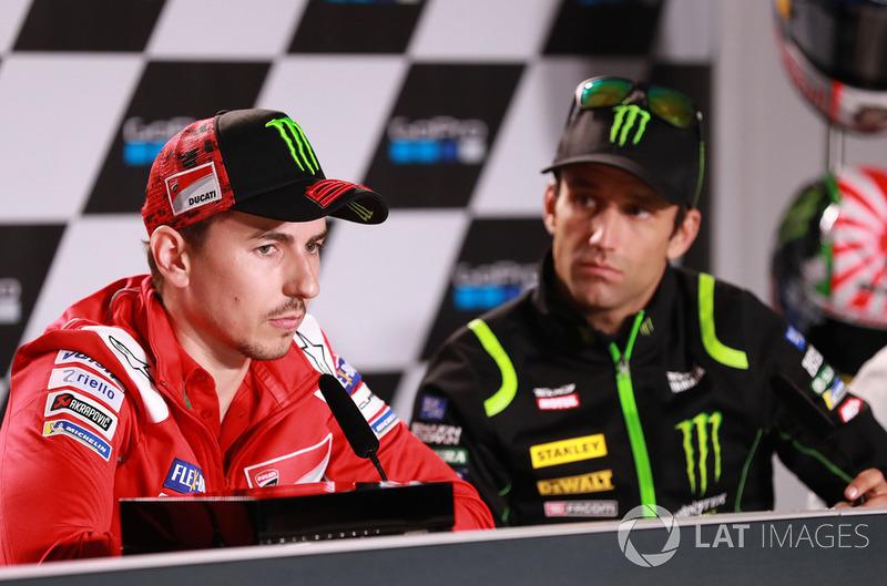Jorge Lorenzo, Ducati Team, Johann Zarco, Monster Yamaha Tech 3