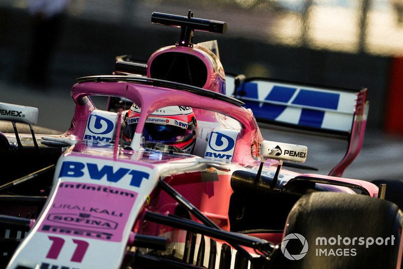 Sergio Perez: Racing Point Force India - 7 puan