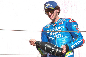 Podium: third place Alex Rins, Team Suzuki MotoGP