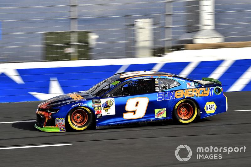 4. Chase Elliott, Hendrick Motorsports, Chevrolet Camaro SunEnergy1