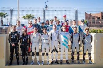 Line up dei Rookie test di Marrakesh 2019