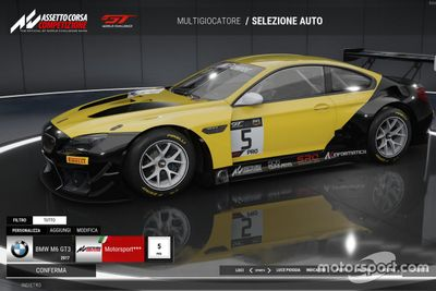 Motorsport.com Italia alla BMW Sim Media