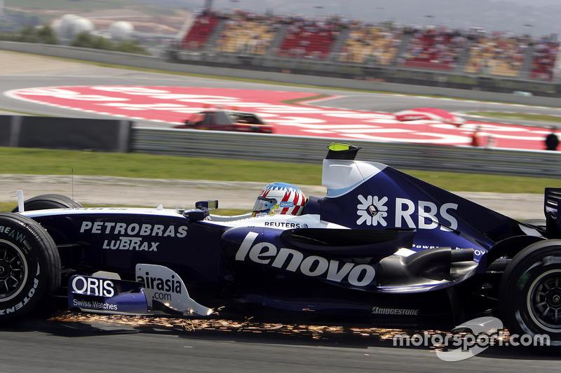 F1, Barcelona 2007: Alexander Wurz, Williams FW29