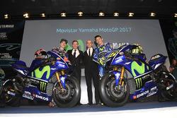 Valentino Rossi, Yamaha Factory Racing, Maverick Viñales, Yamaha Factory Racing, Lin Jarvis, Yamaha