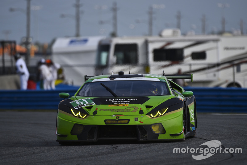 #61 GRT Grasser Racing Team Lamborghini Huracan GT3: Christian Engelhart, Rolf Ineichen, Roberto Pampanini, Christopher Lenz, Milos Pavlovic